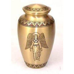 Engraved Angel Urns