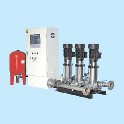 Hydro-Pneumatic Pressure Booster System
