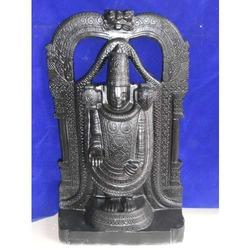 Grey Marble Tirupati Statue
