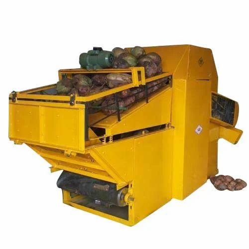 Automatic Coconut Dehusking Machine Ilanir Dehusking