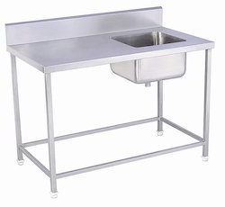 Single SS Sink with Table