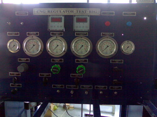 High Pressure Regulator Test Bench- Economy Series - Paskals