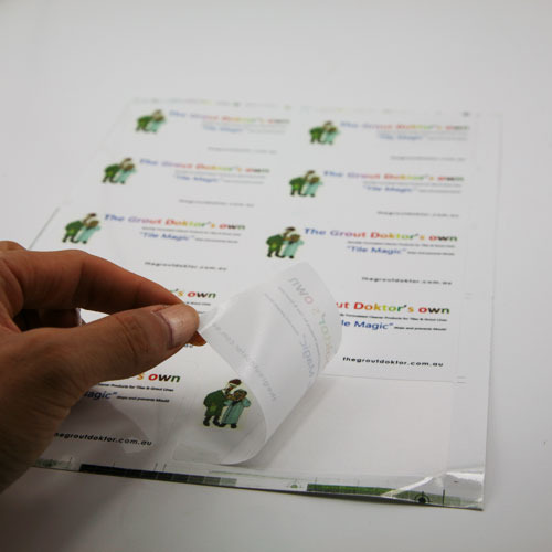 Paper Sticker Printing in Bengaluru by Sulochana Graphics