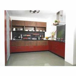 Kitchen Design C Shape modular kitchen - straight kitchen design manufacturer from chennai