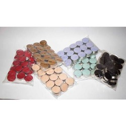 30 PK Unscented Color Tealight