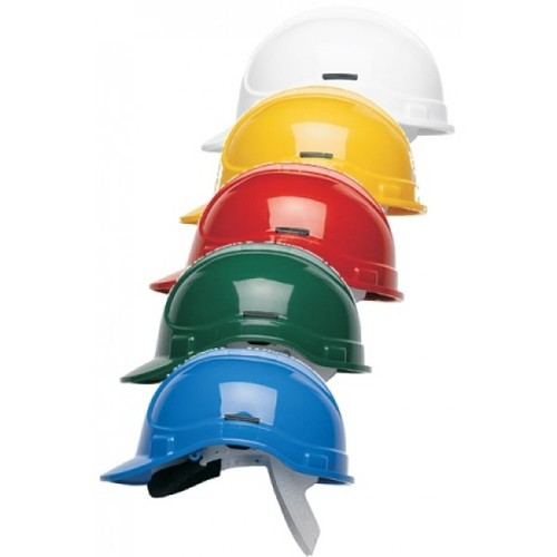 Udyogi Yellow Safety Helmet, for Construction