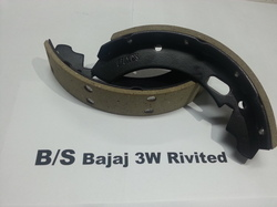 MK Light Vecical Bajaj Three Wheeler Brake Shoe