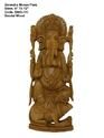 Lord Ganesha Sculpture Sandalwood Ganesha Wood Crafts