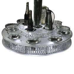 2-Tier Crystal Lazy Susan