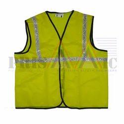 Neon Nylon Reflective Jacket, Size: Large And Medium