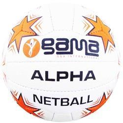 Netball Alpha, Synthetic Pimpled Rubber grade I, 18 panels,