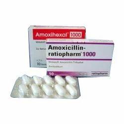 Amoxicillin Antibiotic Tablets