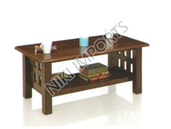 Malasiyan Rubber Wood Teapoy Natural Sydney Coffee Table, for Home