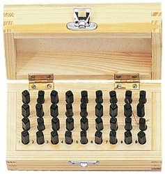 Wooden Punch Set
