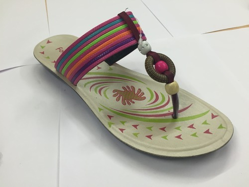 7e2f2bec588 Trendy PU Ladies Slippers at Rs 100  pair