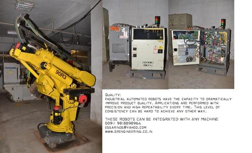 Used Fanuc Industrial Robots | S  R  Engineering Co