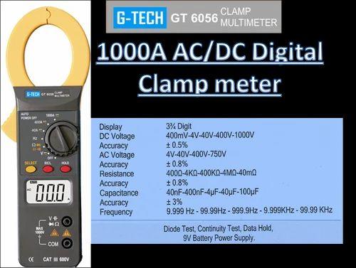 Digital Clamp Meter Meco 2250 Hz Auto Digital Clamp Tester