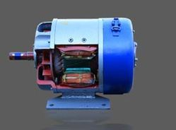 Cut Section of DC Shunt Motor
