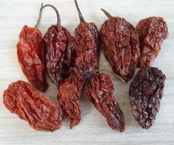 Smoke Dried Bhut Jolokia Chilli