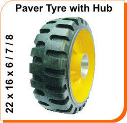 Paver Tyre With Hub