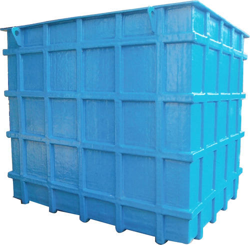 GRP Rectangular Tanks - MS FRP Tank Manufacturer from Mumbai