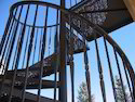 Wrought MS Spiral Staircase