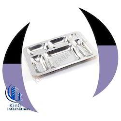 6 Compartment Rectangular Trays