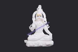 Pure Marble Shiva Statue