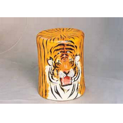 Leather Animal Puffies Bharat Exim N Handicrafts Private Limited