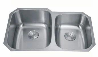 Undermount Stainless Steel Kitchen Sink 60/40, 32