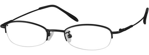 b3cac15ead3 Metal Half Rim Optical Frame
