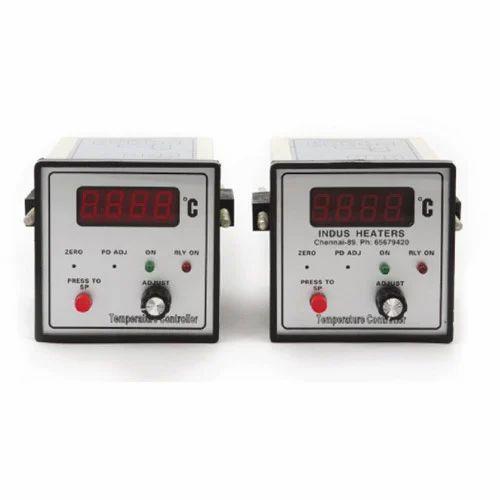 Industrial Temperature Controller, Temperature Control Instruments,  टेम्परेचर कंट्रोलर - Indus Heaters, Chennai | ID: 6756017262