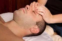 Men Head Massage