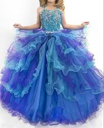 Blue Princess Gown