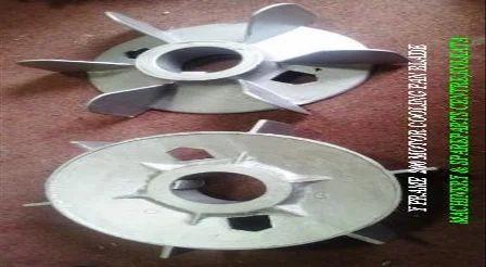 Aluminum Cooling Fan Blade For Y180 Y200 Frame Motor
