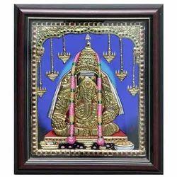 Karpaga Vinayagar Tanjore Painting