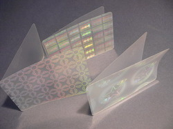 Holographic Transparent Document & Card Lamination Thermal Films, Pouches
