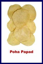 Poha Papad