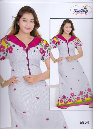 Ladies Designer Nightwear - Ladies Designer Nighty Manufacturer from ... db6e76ee6