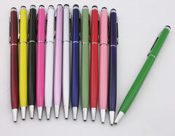 2 in 1 Ball Pen Stylus - Mix Color