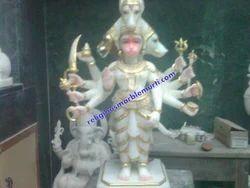 Hanuman Ji Stone Marble Statue