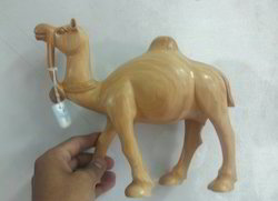 Wooden Camel With Polish