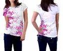 Pink Round Neck T-Shirt