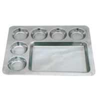 Rectangle 6 Round Thali