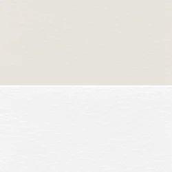 White Seat PVC Leather Cloth