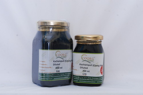 Kachampuli Coorg Vinegar - Kachampuli (Coorg Vinegar) Concentrated
