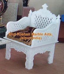 Good White Marble Chair