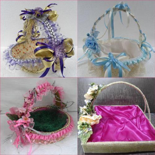 Wedding Basket Gift At Rs 450 Pieces Fibre Gift Motif Laxmi