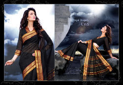 Formal Wear Cotton Saree