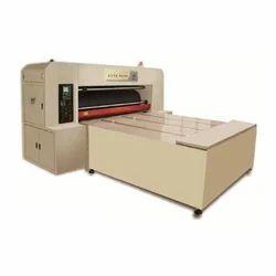 Semi Automatic Rotary Die Cutting Machine